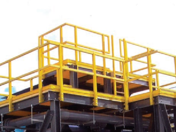 Frp Guardrails And Handrails System Industrialtech